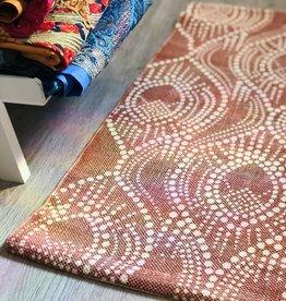 Tag Moroccan Mehndi Stonewash Rug Terracotta