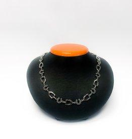 Michel McNabb Jewelry Michel McNabb Sterling Silver Rock Stirrup Necklace