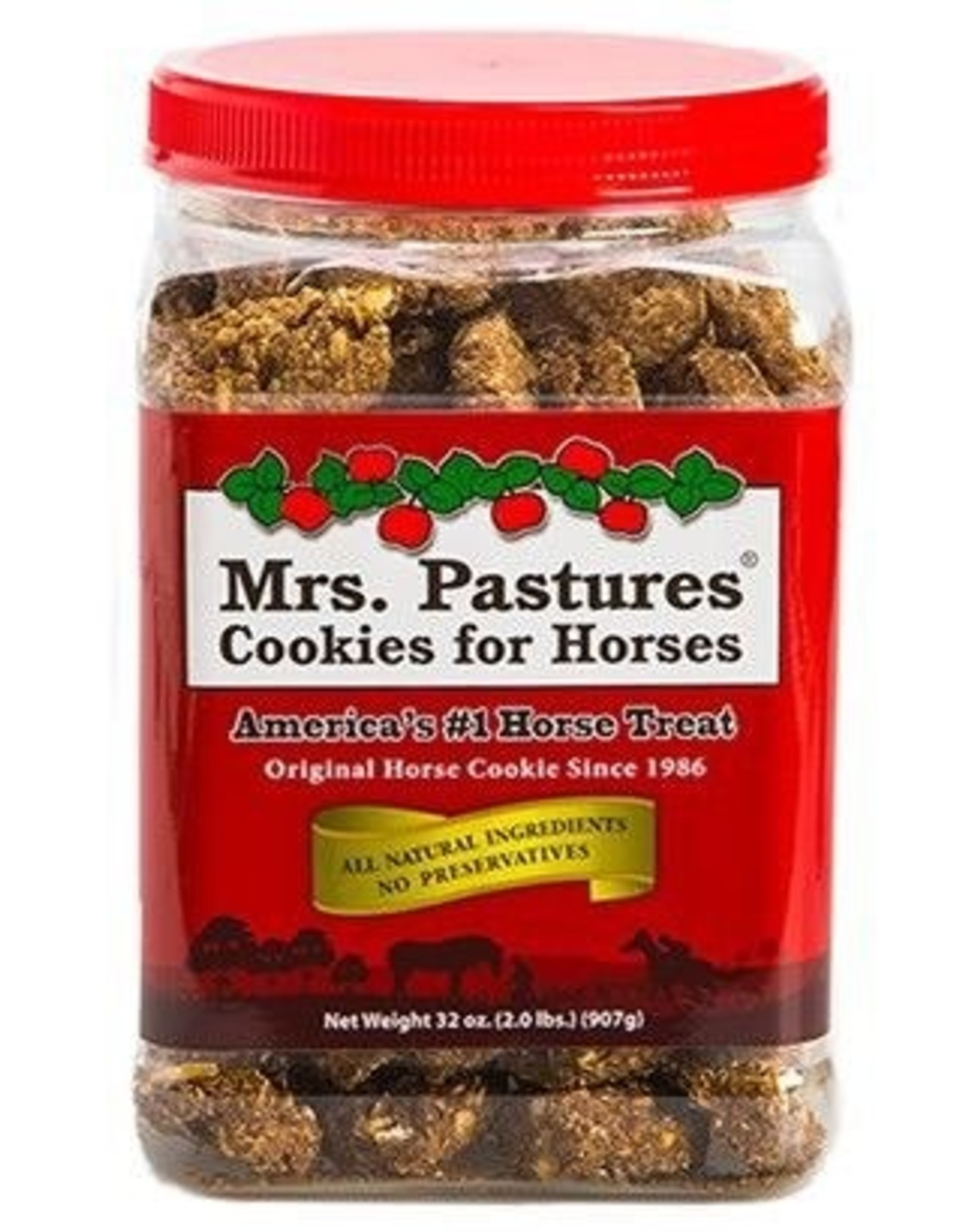 Mrs. Pastures Mrs. Pastures Cookies for Horses - 32oz Reusable Jar