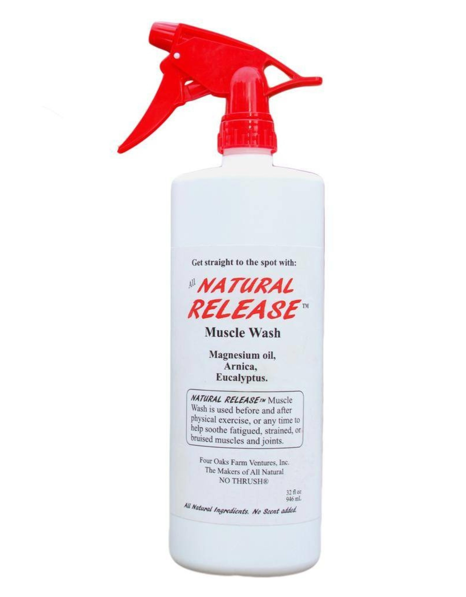 Four Oaks Natural Release Muscle Wash - 32oz