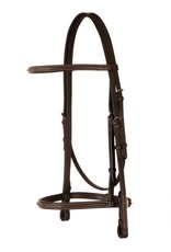 Bobby's English Tack Fancy Raised Snaffle Bridle