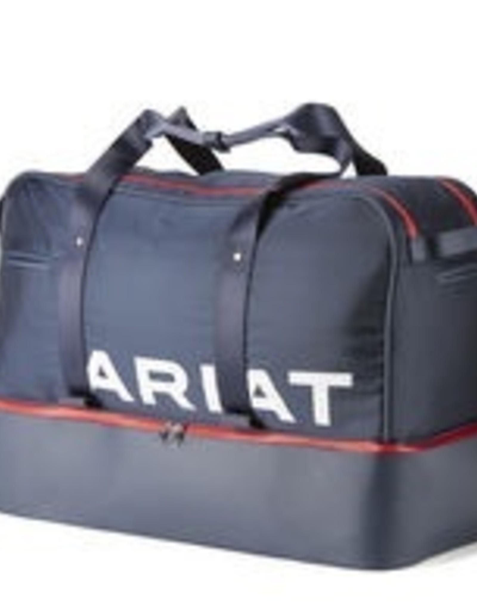 Ariat Grip Bag - Navy/Red