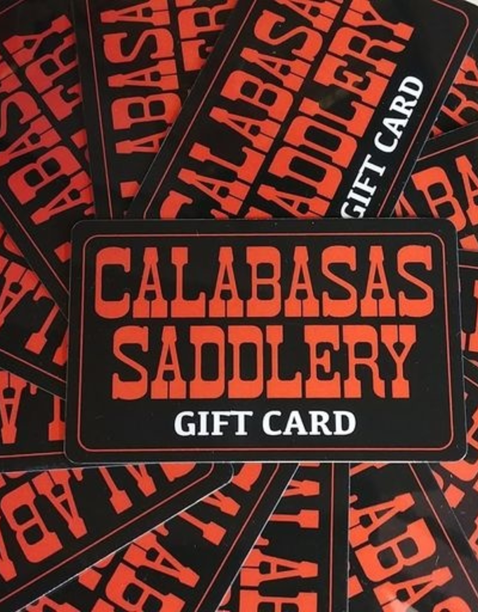Calabasas Saddlery Gift Card