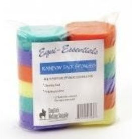 Equi-Essentials Rainbow Tack Sponges