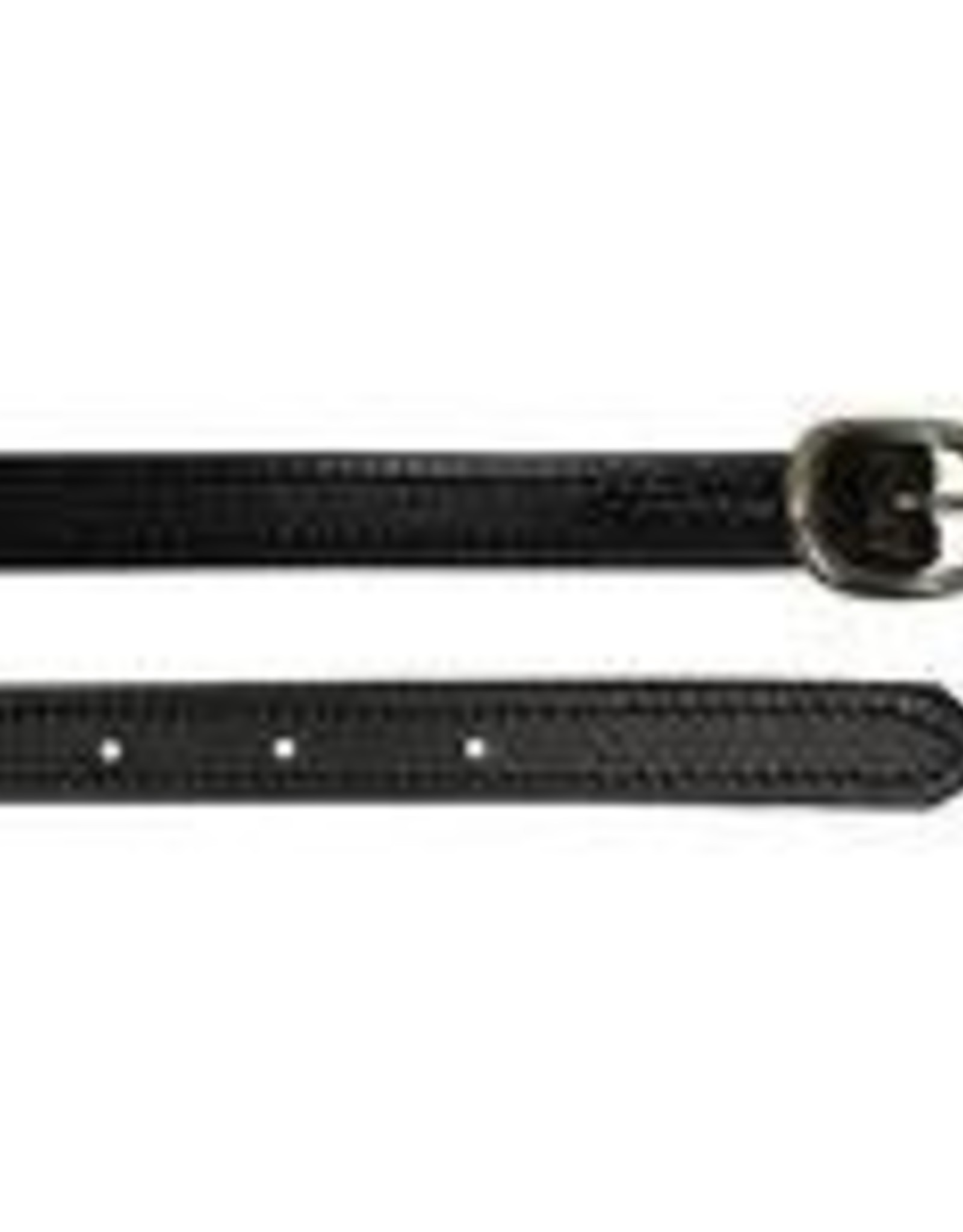 Tory Leather Youth Spur Straps - Black