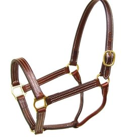 Walsh Triple Stitch British Halter - No Snap