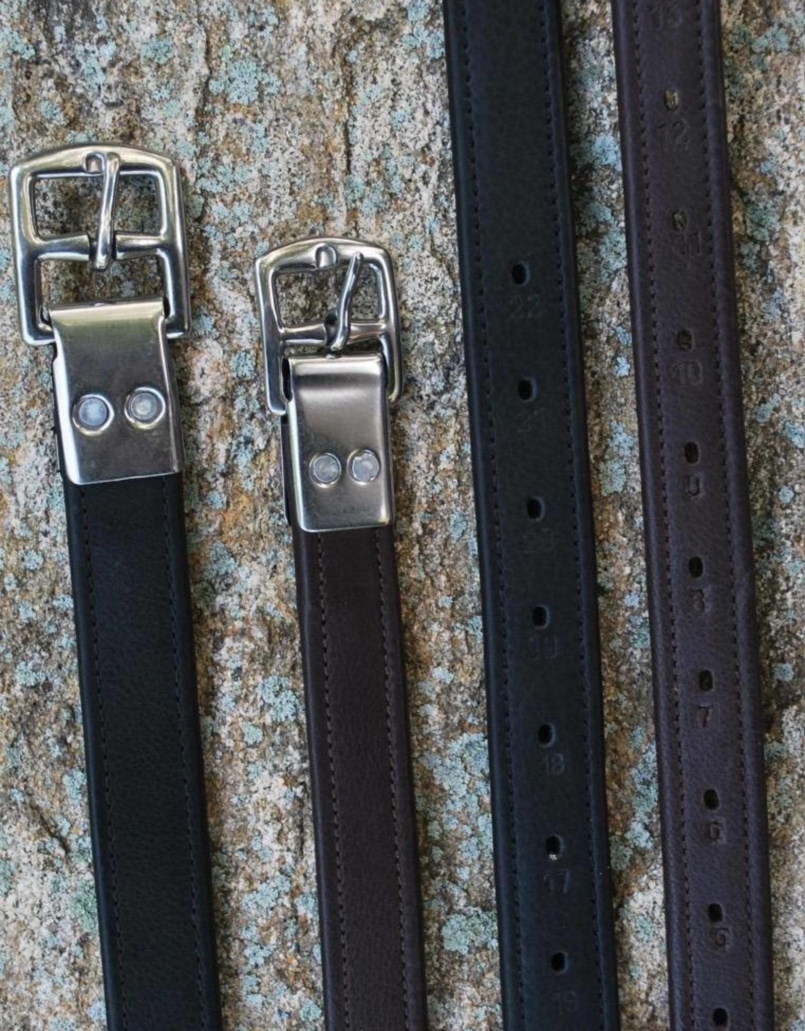 Black Oak Stirrup Leathers