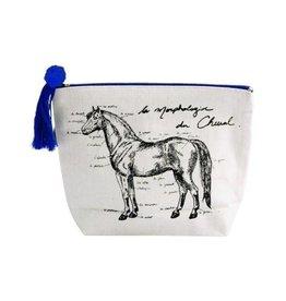Spiced Spiced Equestrian Cheval Makeup Bag