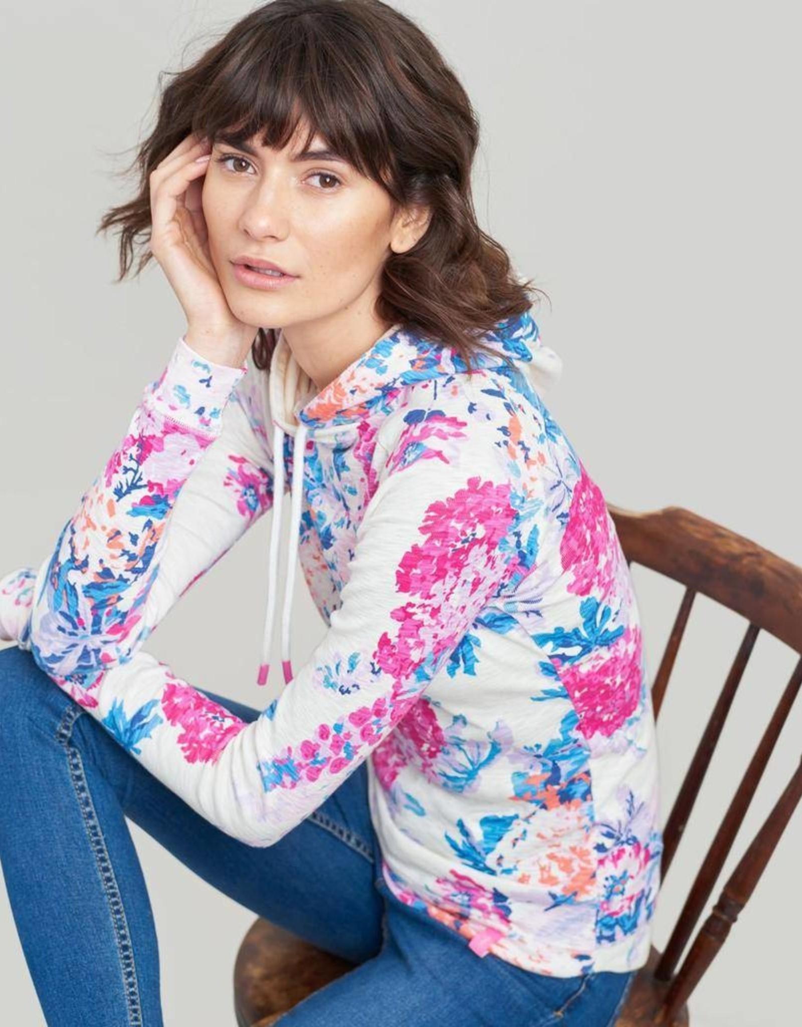 Joules Marlston Print Hooded Sweatshirt
