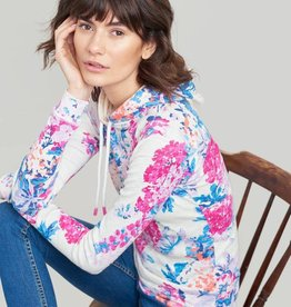 Joules Joules Marlston Print Hooded Sweatshirt