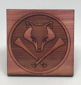 Designs by Loriece Fox Hunt Cedar Tile by Loriece