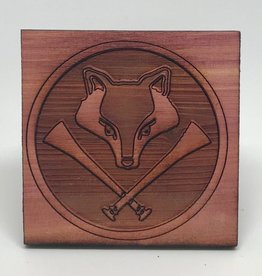 Fox Hunt Cedar Tile by Loriece