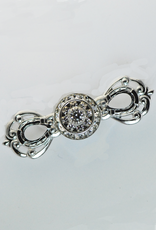 Horseshoe Bow Stock Pin