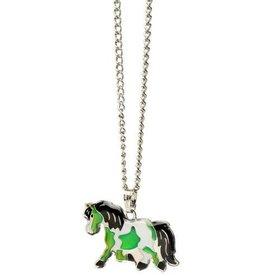 Kelley Equestrian Pony Mood Necklace