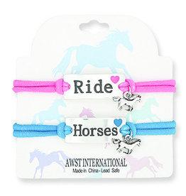 Ride Horses Bracelet Set