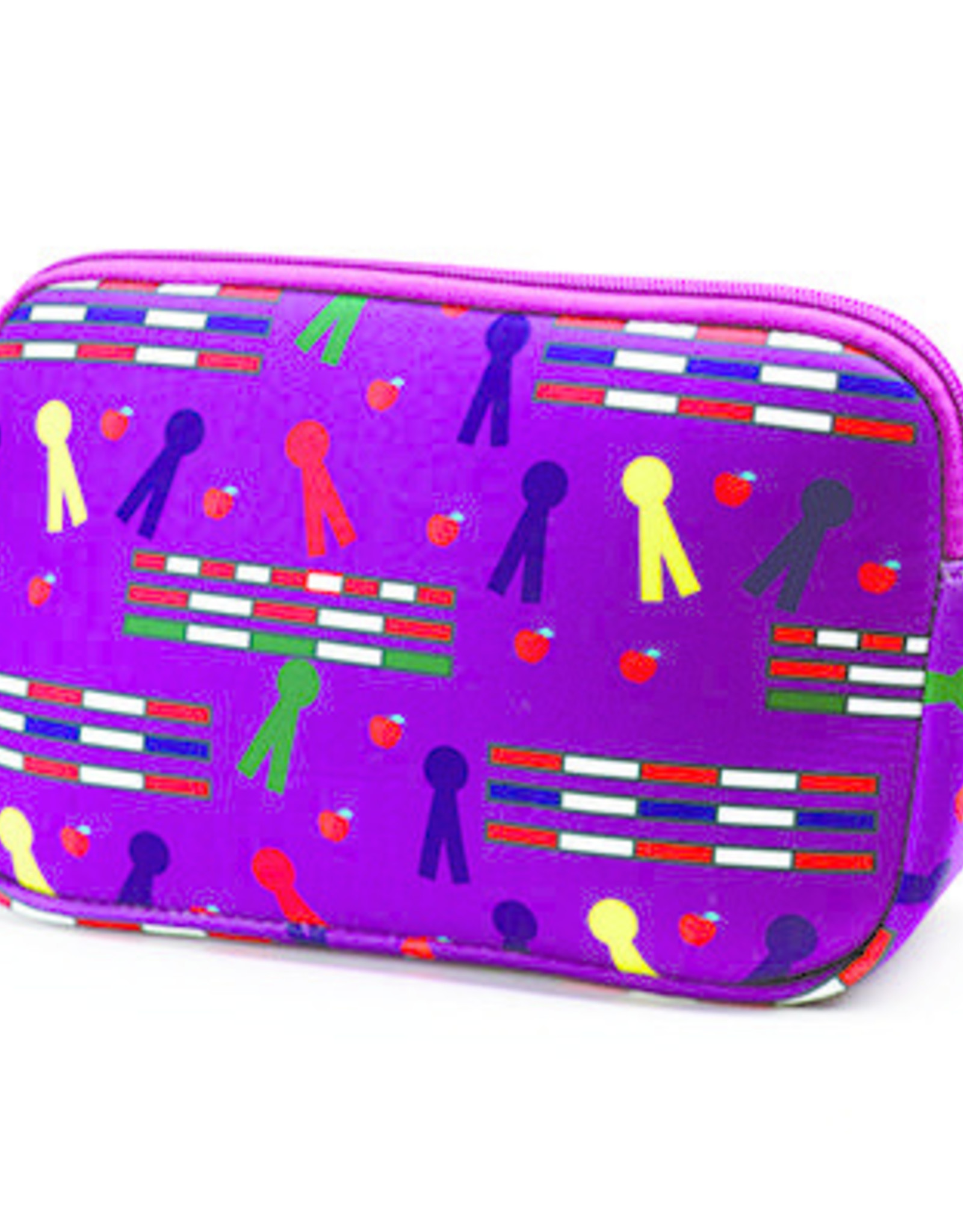 Rails & Ribbons Cosmetic Case