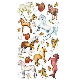 Kelley Equestrian Harvest Pony Stickers