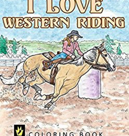 Kelley Equestrian I Love Western Riding Coloring Book