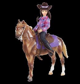 Breyer Classics Western Horse & Rider