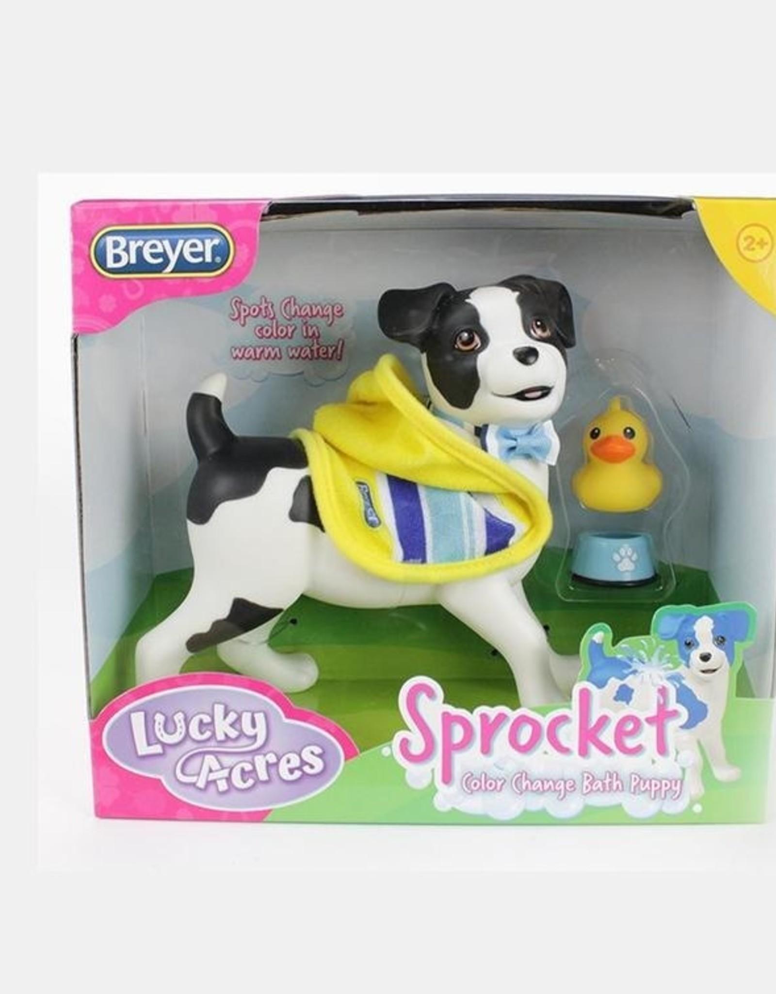 Breyer Sprocket Bath Time Puppy