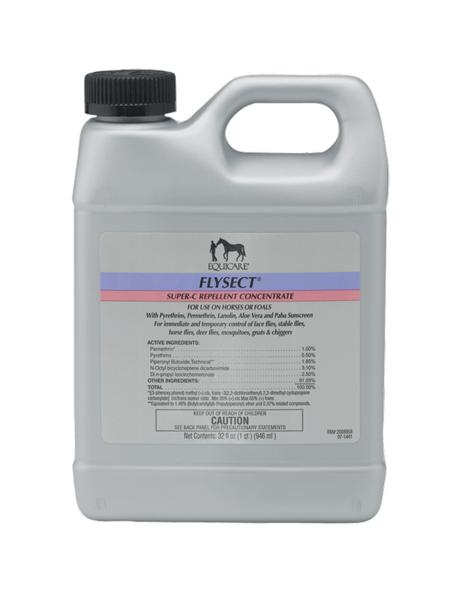 Equicare Flysect Super-C Concentrate Fly Repellent - 32oz