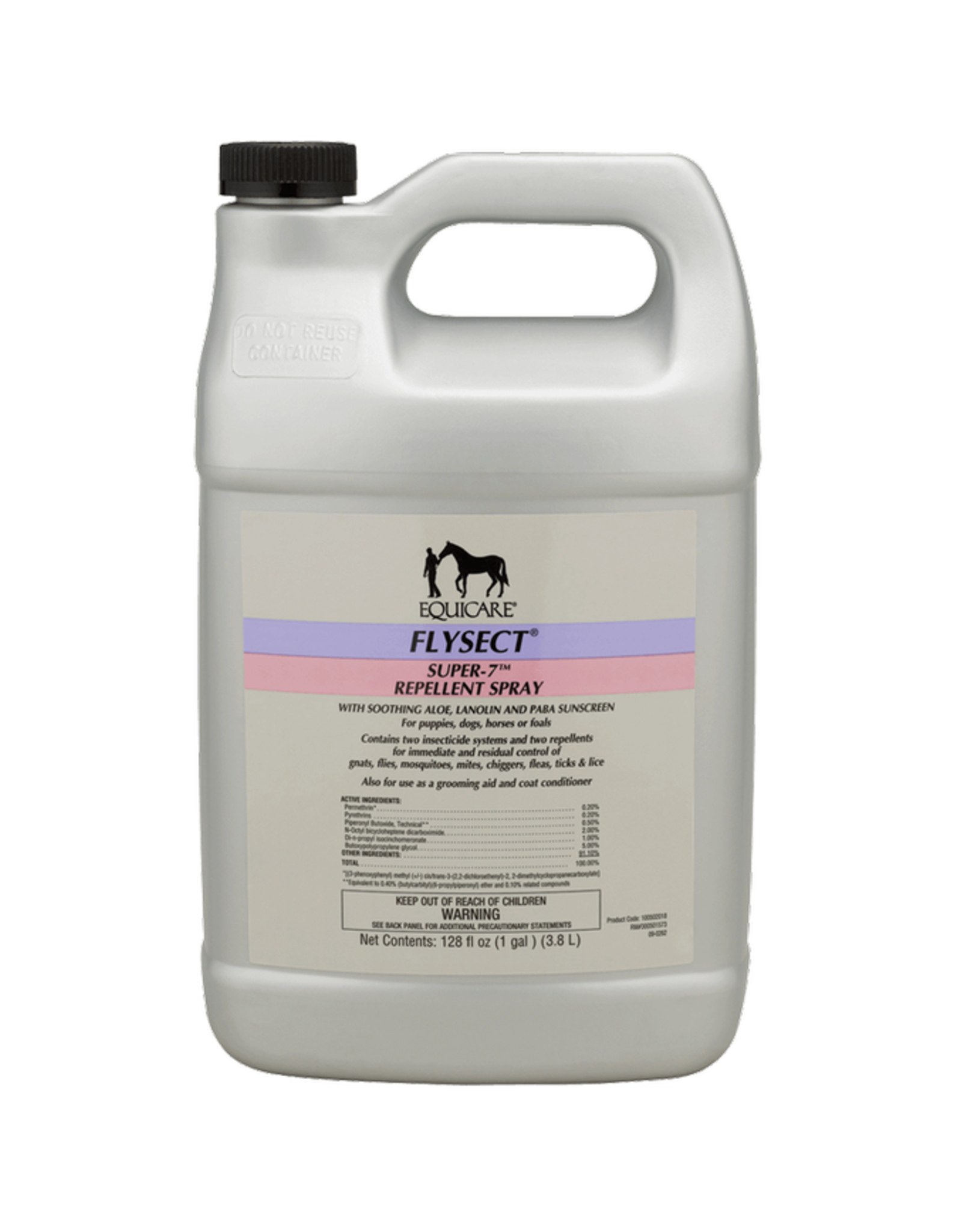 Equicare Flysect Super-7 Fly Repellent - Gallon