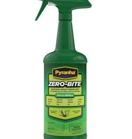 Pyranha Zero-Bite Natural Insect Repellent - 32oz