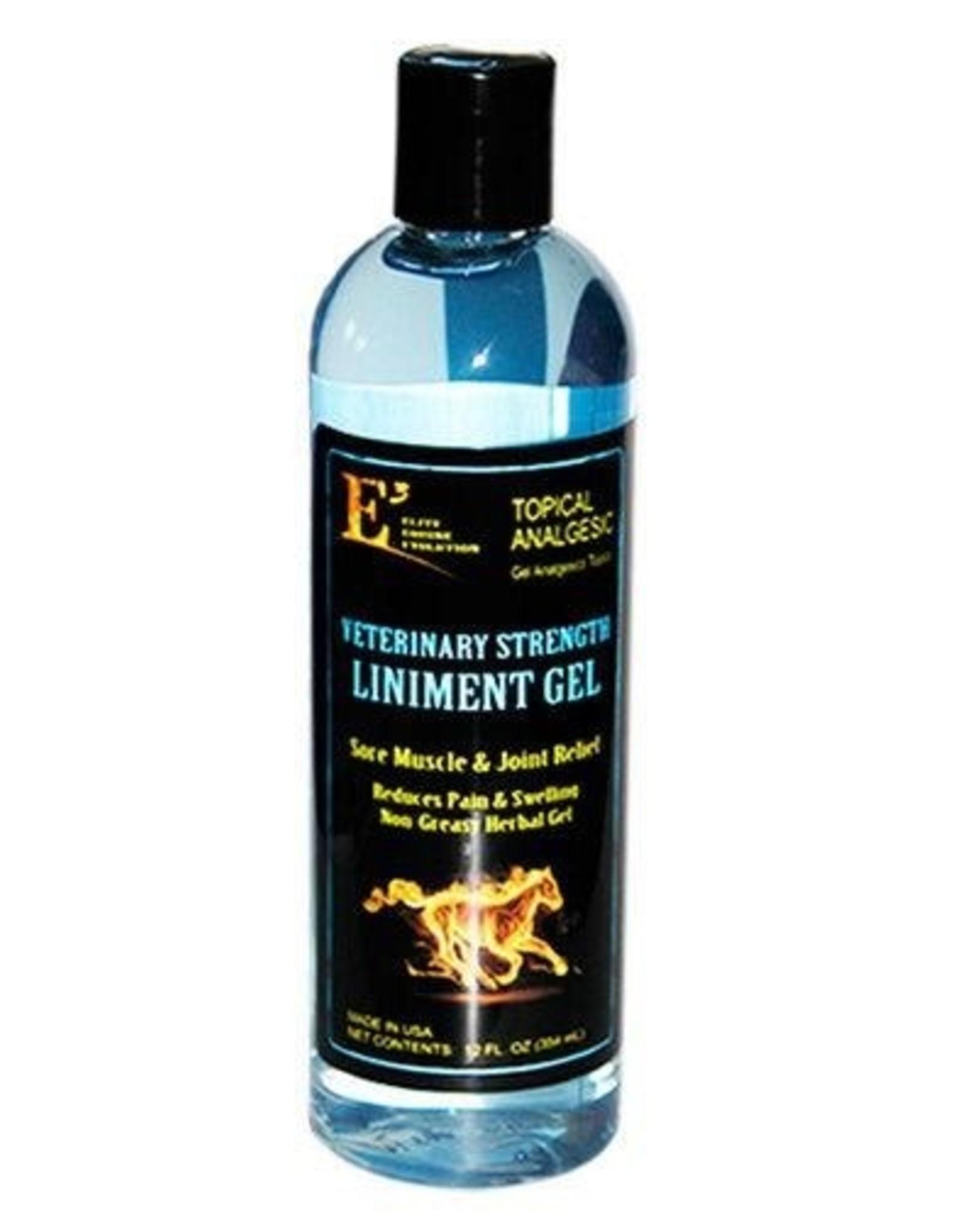E3 Veterinary Strength Liniment Gel - 12oz