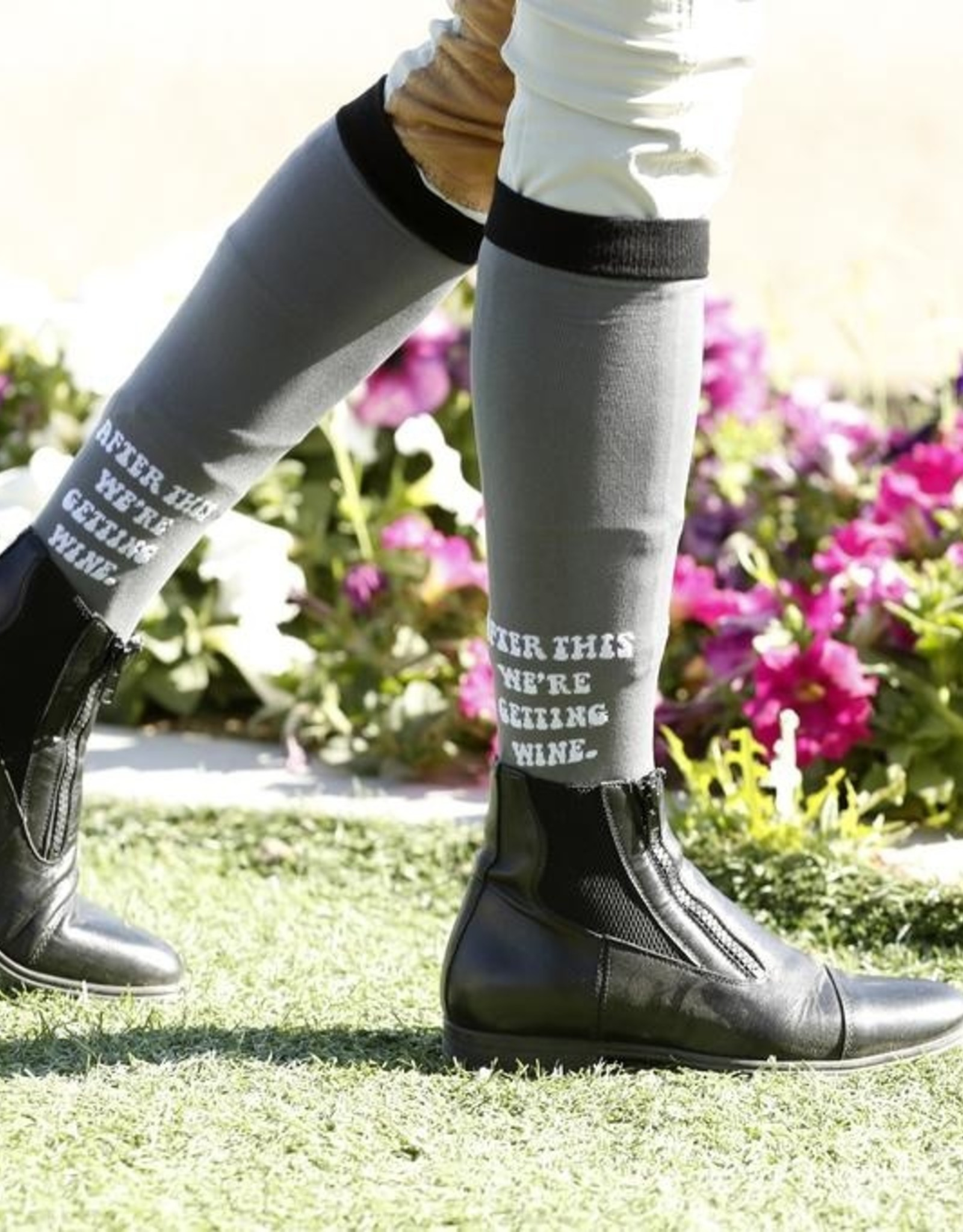 Dreamers  & Schemers Knit Riding Boot Socks