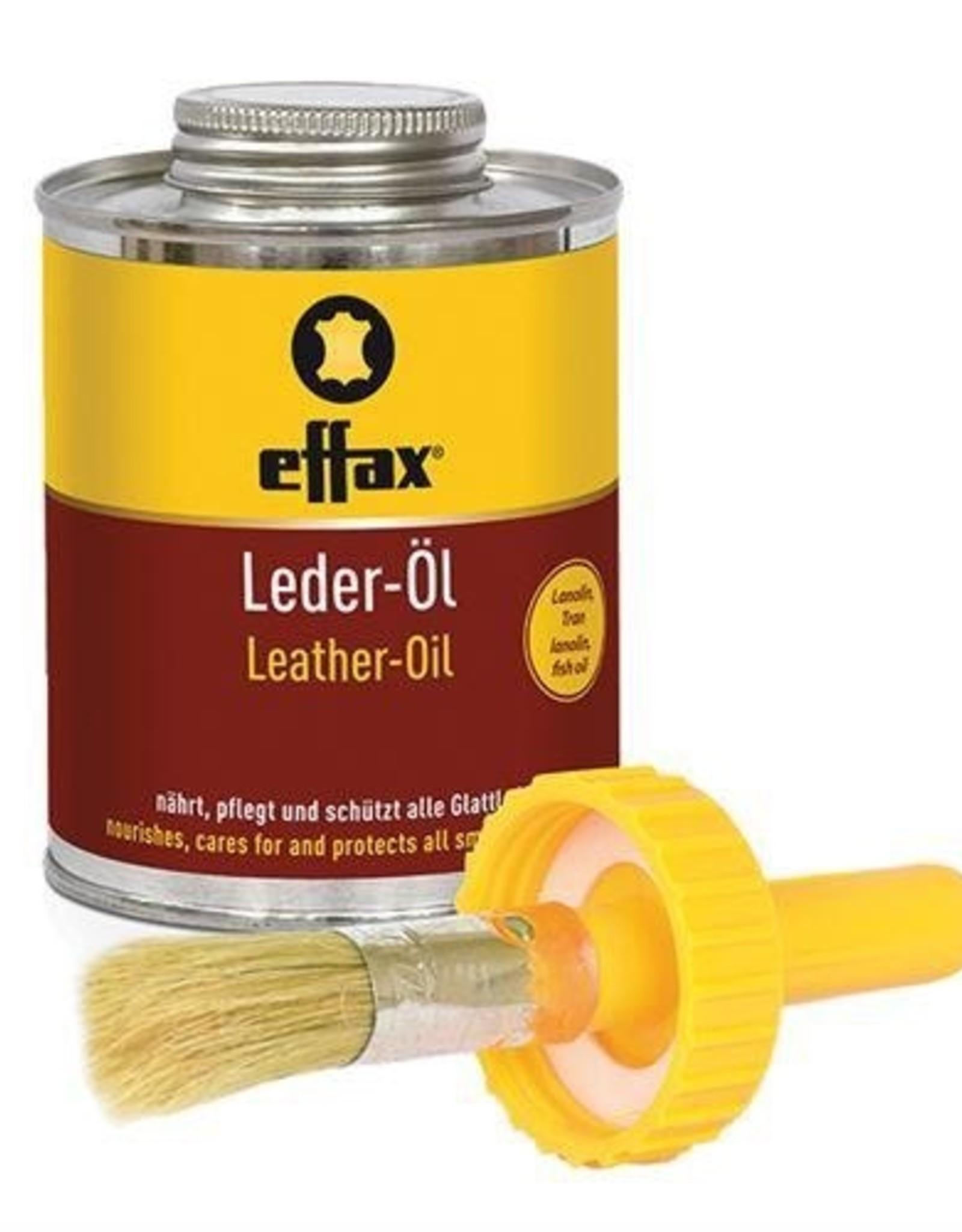 Effax Leather Oil w/Applicator - 475ml