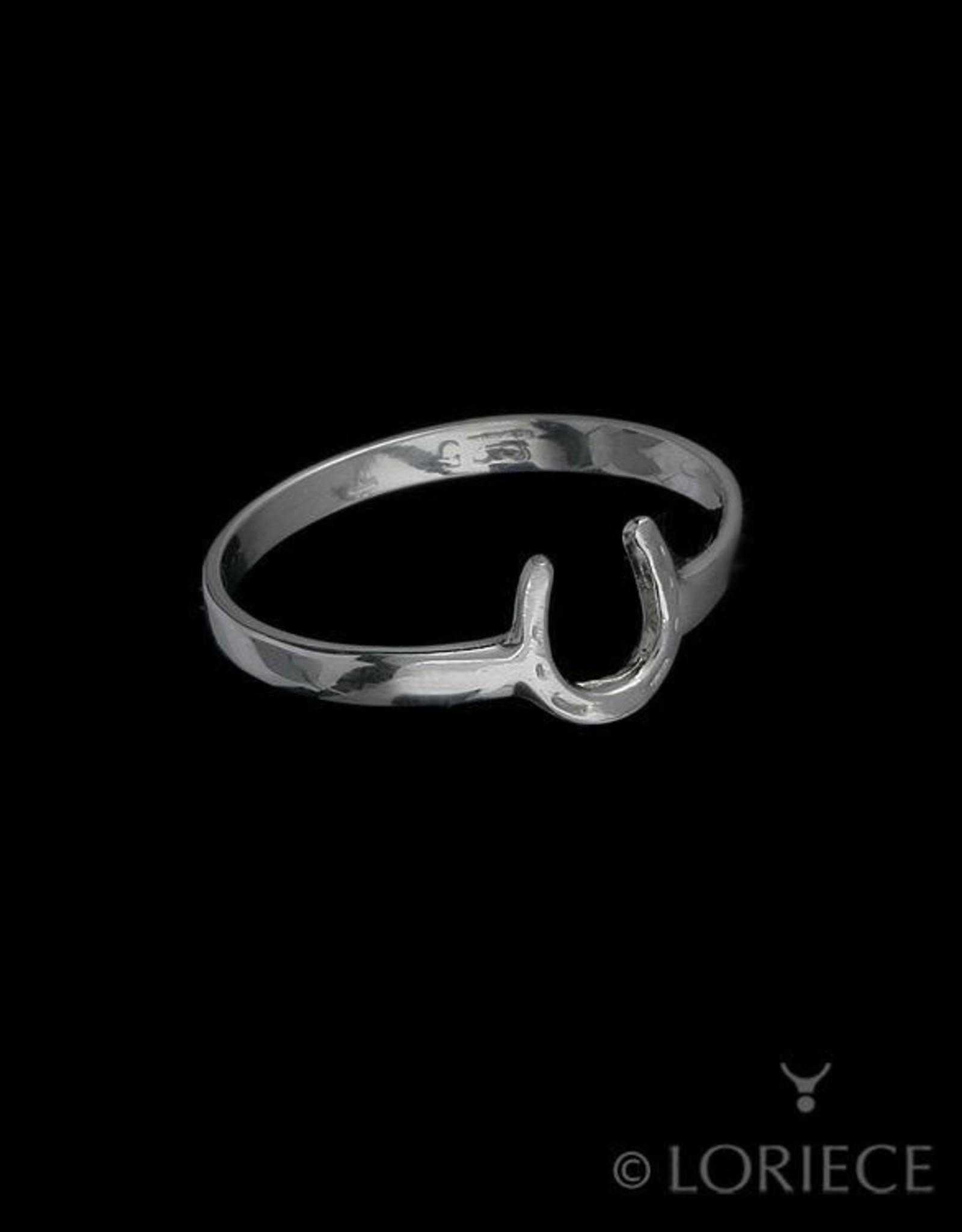 Tiny Horseshoe Ring by Loriece