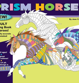 Horse Hollow Press Prism Horses Adult Coloring Book