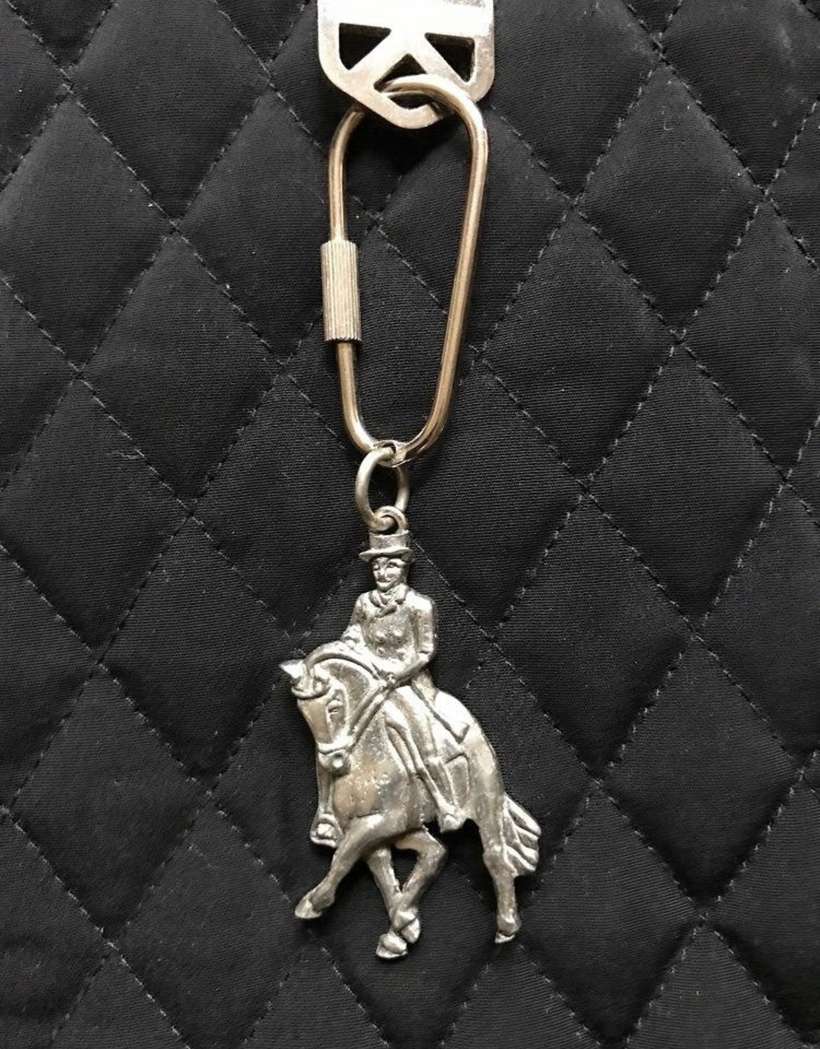 Dressage Horse Keyring by Loriece
