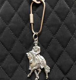 Designs by Loriece Dressage Horse Keyring by Loriece
