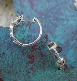 Baron Snaffle Bit Horse Earrings