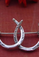 Double Horseshoe Stock Pin