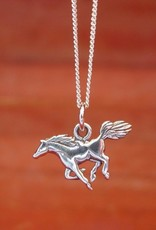 Mustang Horse Pendant Necklace