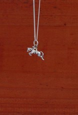 Hunter Jumper Horse Pendant Necklace