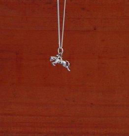 Baron Hunter Jumper Horse Pendant Necklace