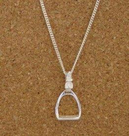 Stirrup Buckle Pendant Necklace
