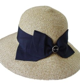 Baron Snaffle Bit Lampshade Paper Braid Straw Hat