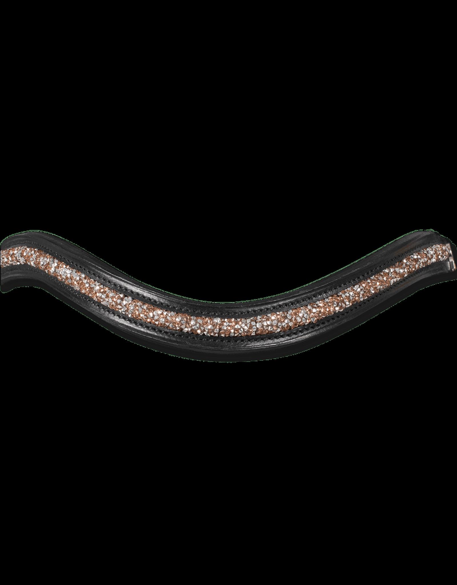 Waldhausen X-Line Rosewood Patent Bridle