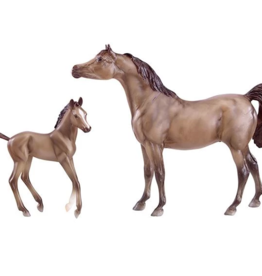 Breyer Grey Arabian Horse & Foal
