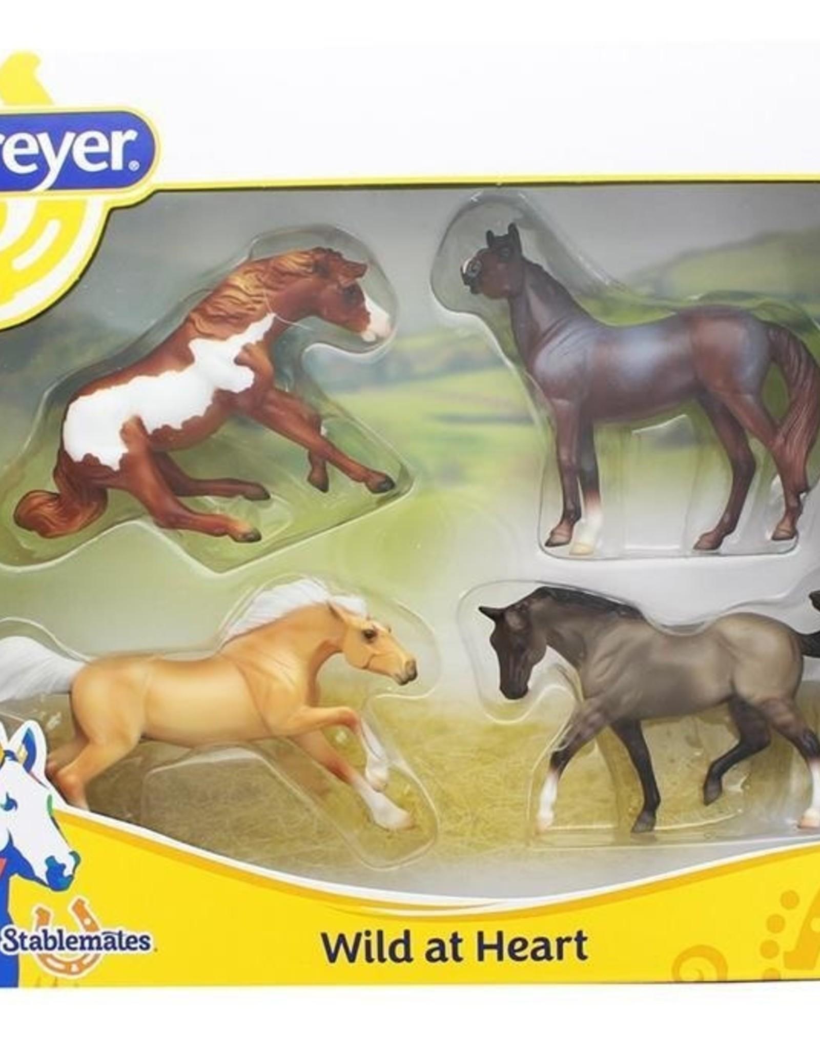 Breyer Wild At Heart 4-Horse Set
