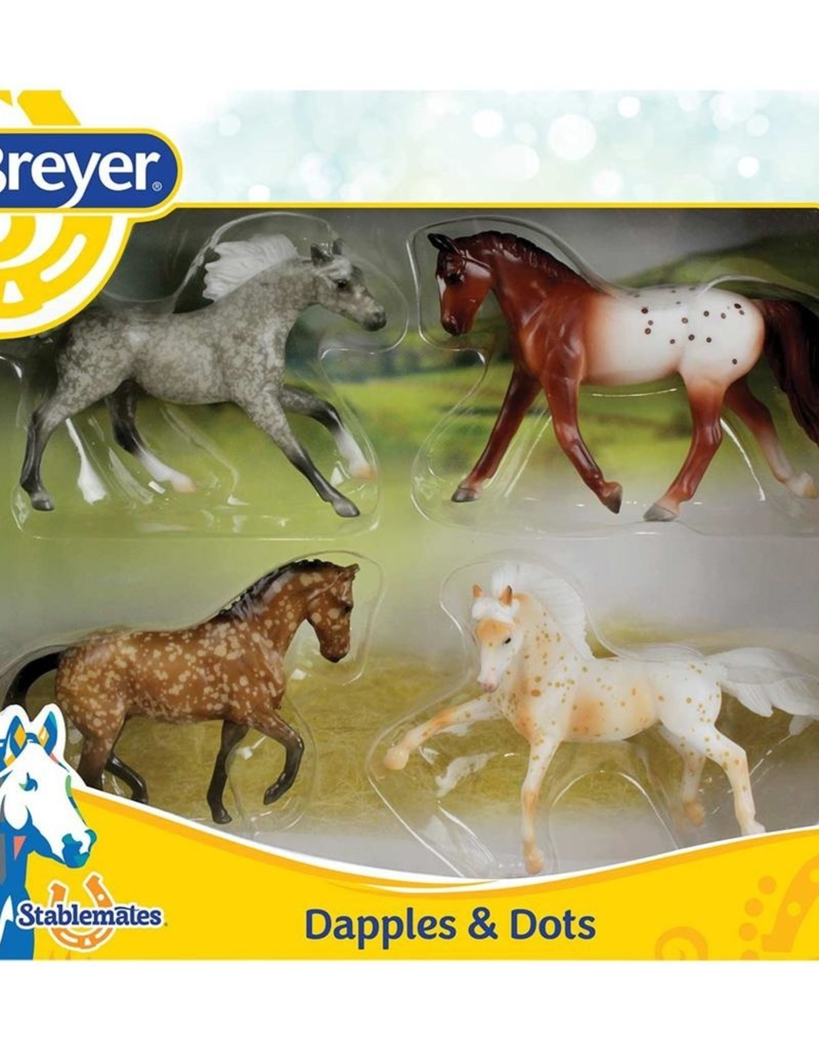 Breyer Dapples & Dots 4-Horse Set