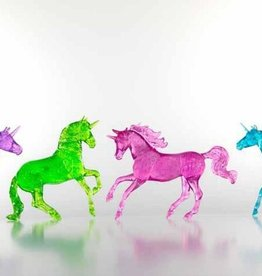 Breyer Clear Glitter Unicorn Gift Set