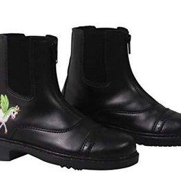 TuffRider Kids' Unicorn Front Zip Paddock Boot