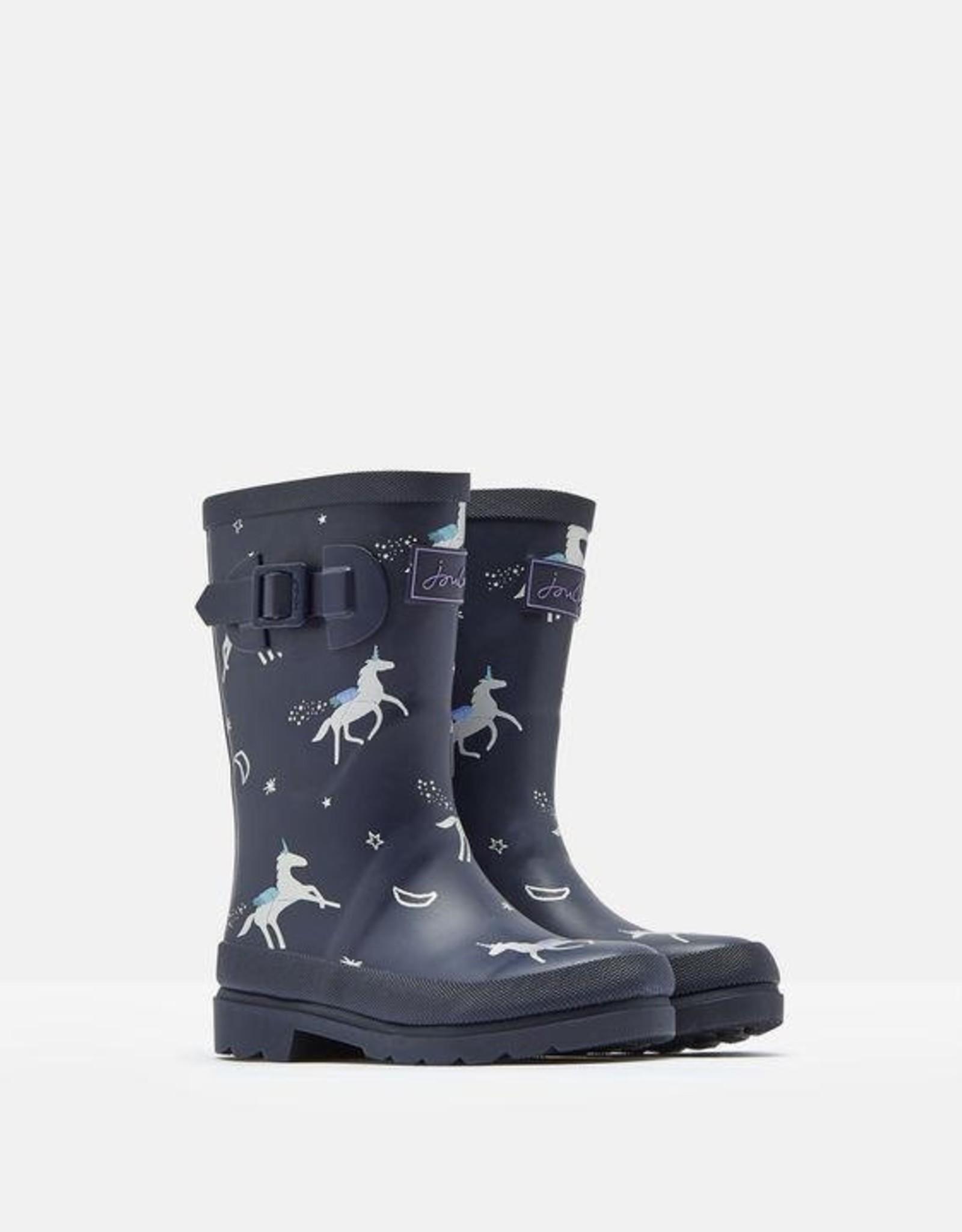 Joules Kids' Welly Print  Rain Boot