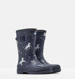 Joules Kids' Welly Print  Rain Boot