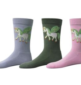 Tuff Rider TuffRider Kids' Unicorn Socks - 3 pack